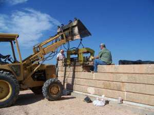 Low cost building methods: Compressed Earth Block Technology