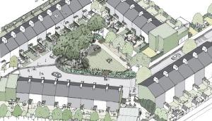 The Triangle Housing Project, Swindon, UK