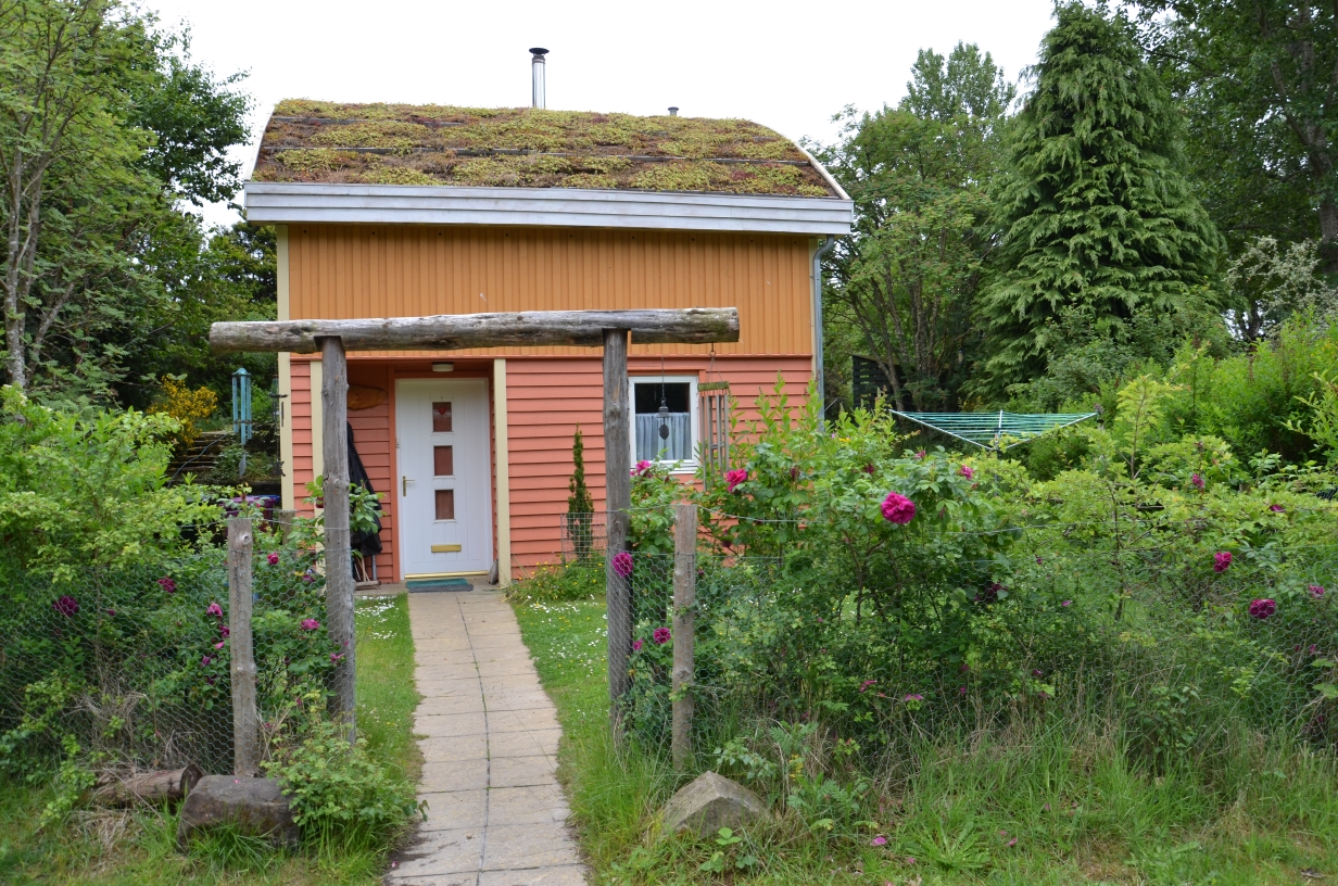 Findhorn Eco Village Forres Scotland Green Building Blog