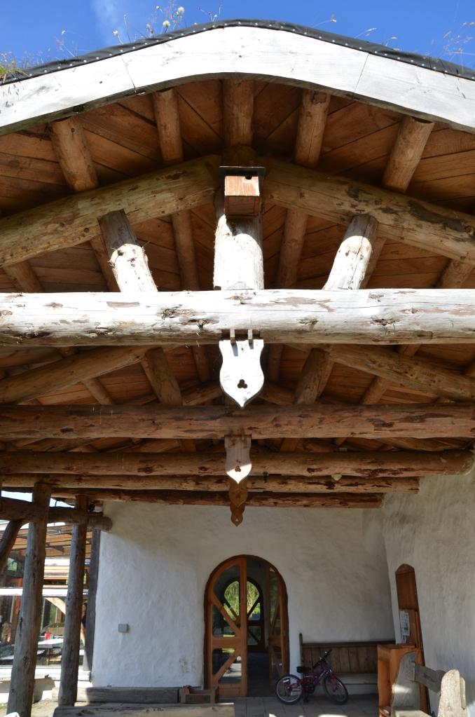 Lammas common house entrance